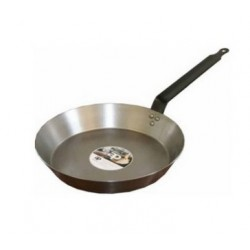 BLACK IRON FRYING PAN 26CM