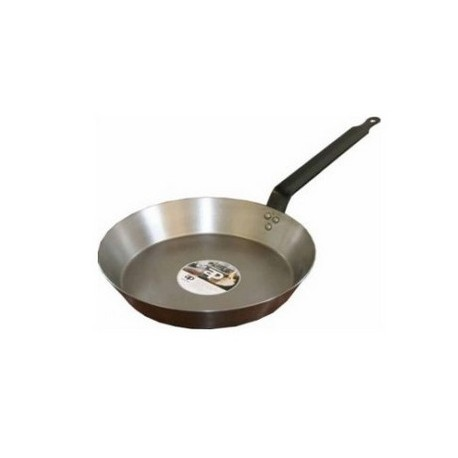 BLACK IRON FRYING PAN 30CM