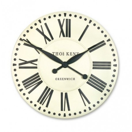 PARISIAN WALL CLOCK- Cream