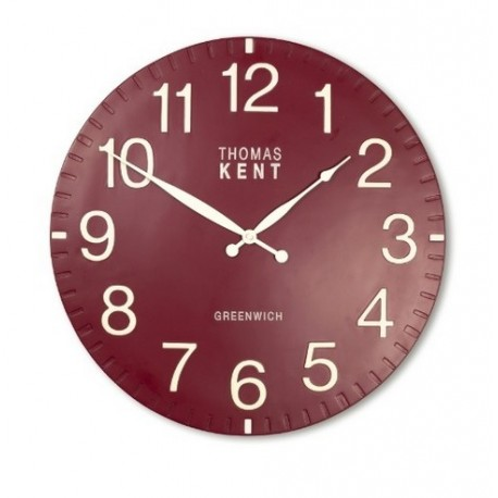 HENLEY WALL CLOCK RASPBERRY