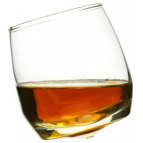 Saga Form whisky rocking glasses