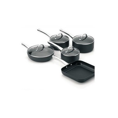 TECHTONIC 5 PIECE COOKWARE SET