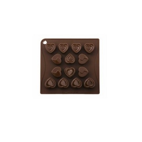 SILICON MOULD CHOC LOVERS