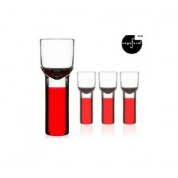 Sagaform Schnapps Glasses in red