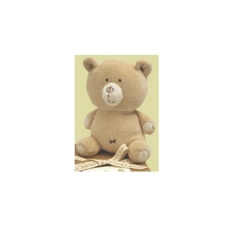 Natures Purest  hug me bear 20cm velour bear