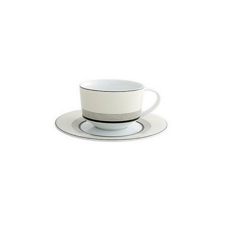 Deco TEA CUP AND SAUCER