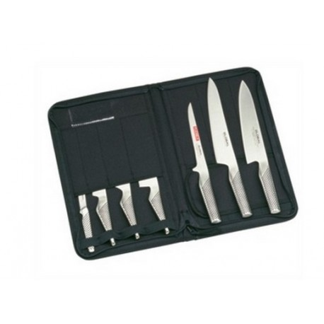Global 7 Piece Knife Set & Case