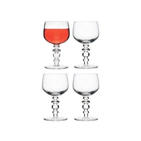 Sagaform® Spectra Clear Wine Glass (Set of 4)