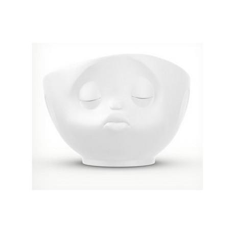 Tassen Bowl, kissing, white 500ml