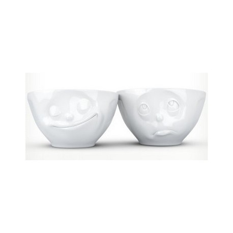Tassen Medium bowls Set No.2 - happy & Oh please 200ml