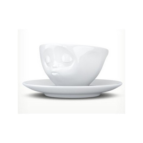 Tassen Espresso cup, kissing, white 100ml