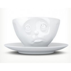 "Tassen Coffee cup, ""Oh Please!"", white 200ml"