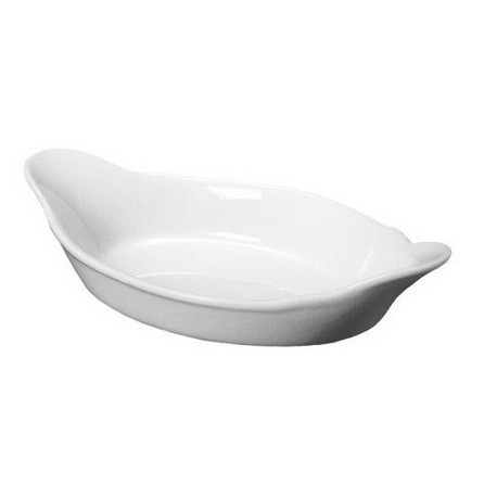 Royal Genware Oval Eared Dish 32cm White 32cm/12.5 inches
