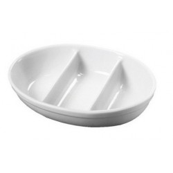 ROYAL GENWARE 3 DIVISIONided Veg. Dish 28cm 3 Divide