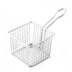 Mini Fry Basket Square