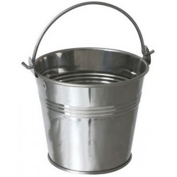 Stainless Steel Serving Bucket 10cm