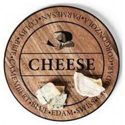Salt And Pepper Fromage Round