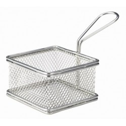 Serving Fry Basket Square 9.5X9.5X6cm