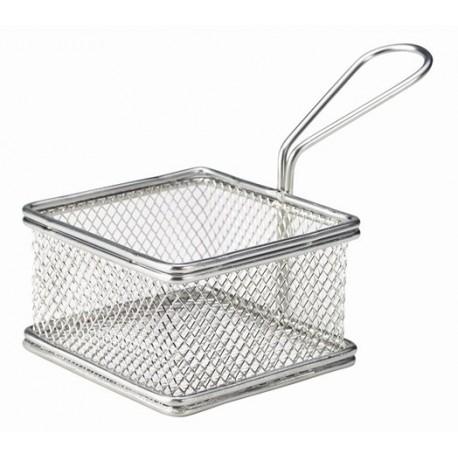 Serving Fry Basket Square 9.5X9.5X6cm