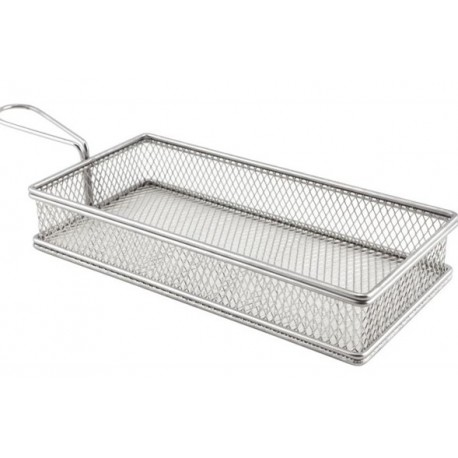 Large Rect. Serving Basket 26X13X4.5cm