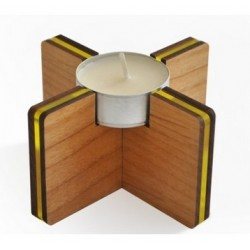 Tilt tealight holder