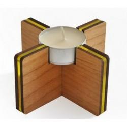 Tilt tealight holder