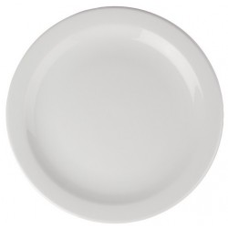 Narrow Rimmed Plates 11 in