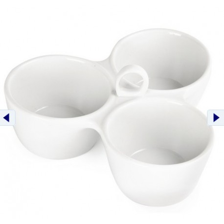 Relish Dish 3 Pot 180mm