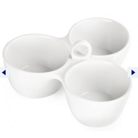 Relish Dish 3 Pot 180mm