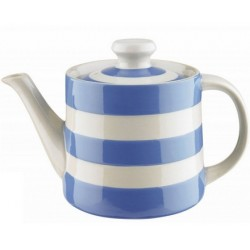 CORNISH LARGE  BETTY BLUE TEA POT