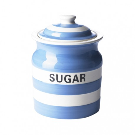Cornish Blue Storage Jar - Sugar 84cl by T.G