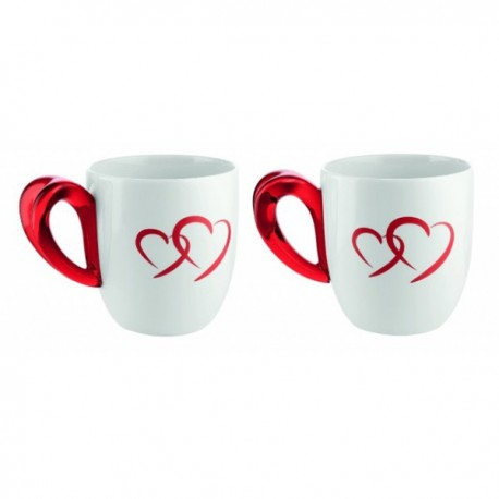 GUZZINI SET OF LOVE MUGS