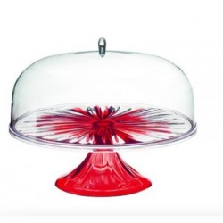 Guzzini Cake Stand With Dome